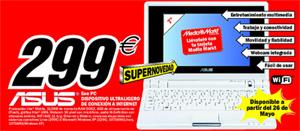 MediaMarkt anuncia el ASUS Eee PC 701