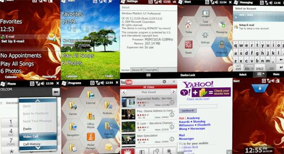 HTC Diamond con Windows Mobile 6.5