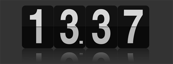 FlipClock for jQuery