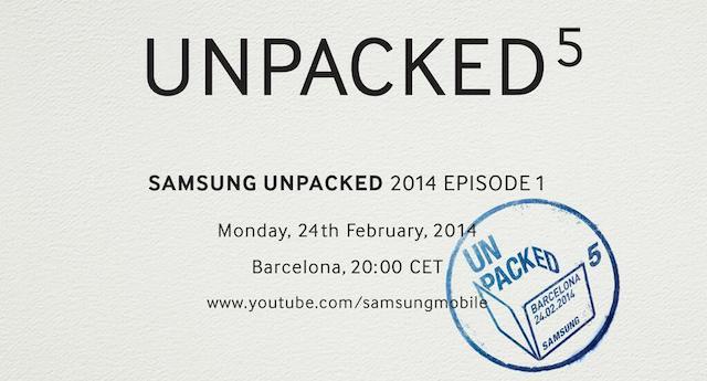 Invitación Samsung S5